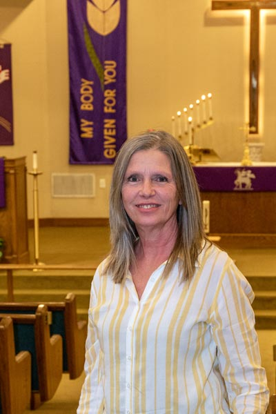 Diane Luckenbach Church Secretary
