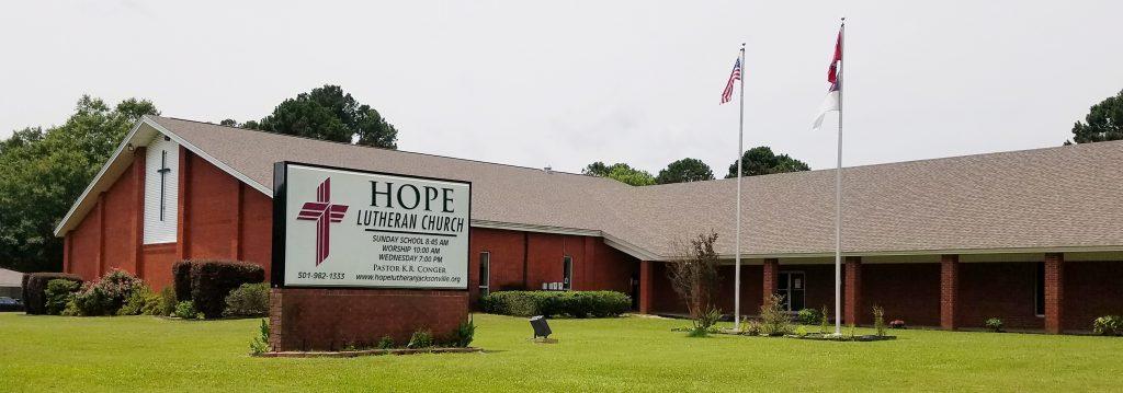 Hope Lutheran Church in Jacksonville, AR