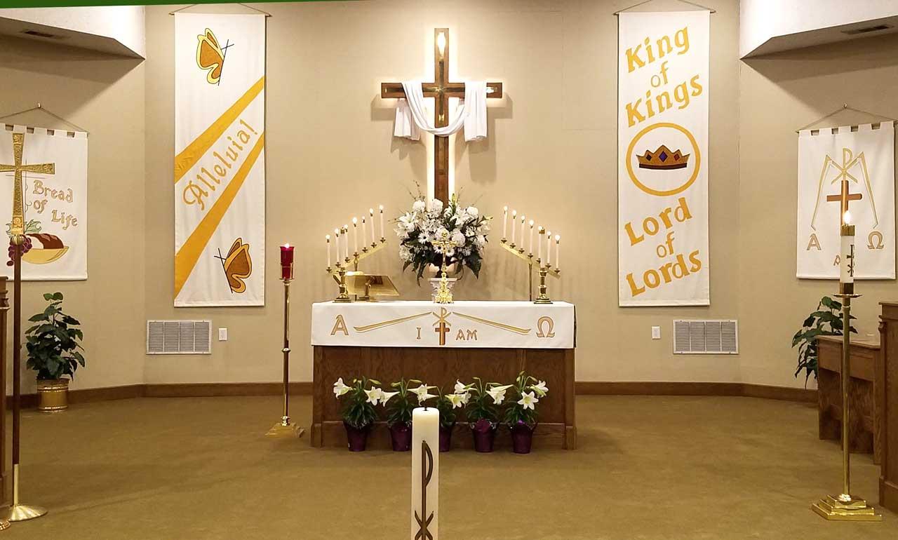 Hope Lutheran Church sanctuary